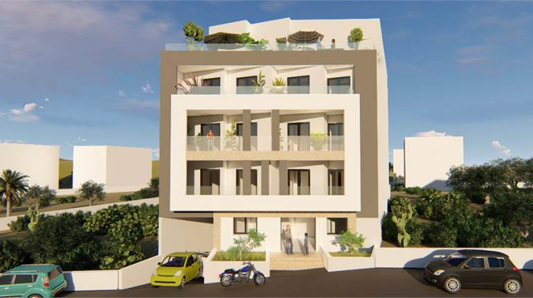 3 Bedroom Apartment / Back and Front Balcony