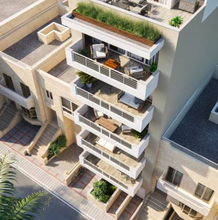 2 Bedroom Penthouse / Finished / Sea views