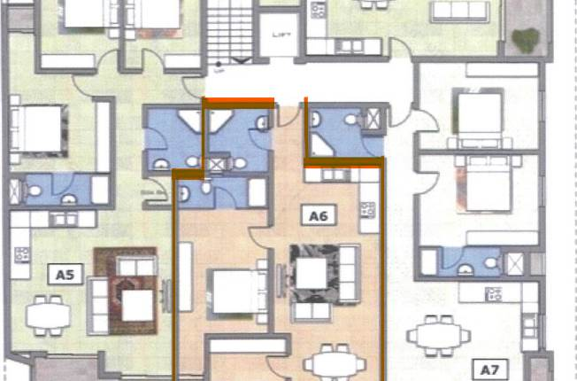 Marsaxlokk - 2 Bedroom Apartment On Plan