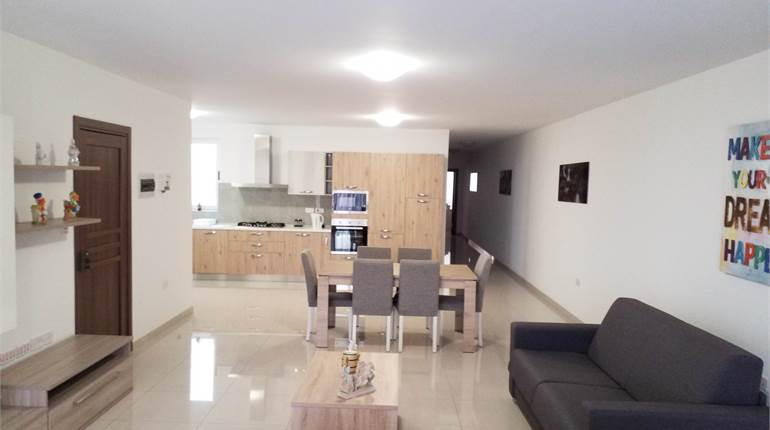 Bugibba - Brand New 3 Bedroom Fully furnished Apt