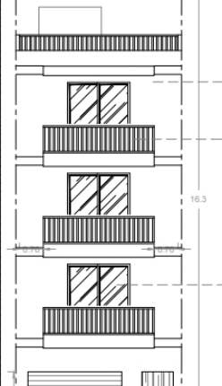 Duplex penthouse - on plan