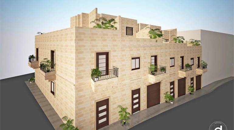 Marsaxlokk, Plot For a 3 Bedroom Terraced House