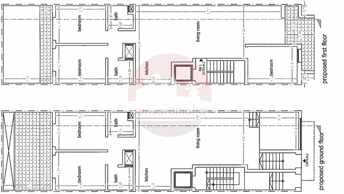 Maisonette with 2 bedrooms